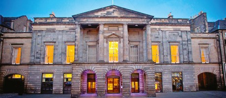 The Conference venue: The Assembly Rooms Edinburgh